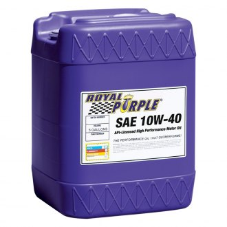 Royal Purple® - SAE 10W-40 API-Licensed Multi-Grade High Performance Motor Oil 5-Gal. Pail