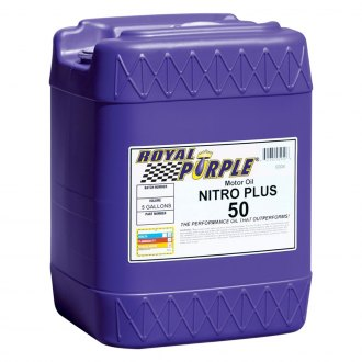 Royal Purple® - SAE 50 Nitro Plus Racing Motor Motor Oil 5-Gal. Pail