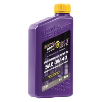 Royal Purple® - SAE 0W-40 API-Licensed Multi-Grade High Performance Motor Oil 1-Qt. Bottle