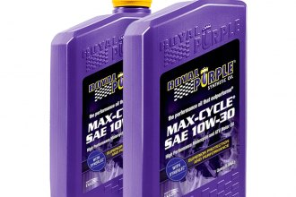 Royal Purple® 12314 - SAE 10W-30 Max-Cycle™ Motorcycle Engine Oil