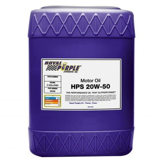 Royal Purple® - SAE 20W-50 HPS™ High Performance Street Motor Synthetic Oil 5-Gal. Pail