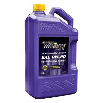 Royal Purple® - SAE 0W-20 API-Licensed Multi-Grade High Performance Motor Oil 5-Qt. Bottle