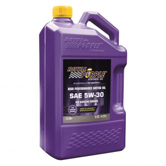 Royal Purple® - SAE 5W-30 API-Licensed Multi-Grade High Performance Motor Oil 5-Qt. Bottle