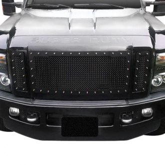 Royalty Core® - 3-Pc RC1 Classic Design Satin Black 10.0 Power Mesh Grille