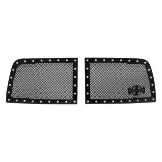 Royalty Core® - 2-Pc RC1 Classic Design Satin Black 10.0 Power Mesh Grille