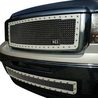 Royalty Core® - RC1 Classic 2-Tone Design Chrome 10.0 Power Mesh Grille