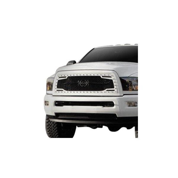 Royalty Core® - RC2 Twin Mesh Design Gloss Black 10.0 Power Mesh Main Grille