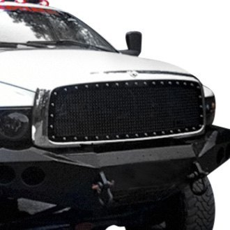 Royalty Core® - 1-Pc RCR Race Line Design Custom Painted Mesh Grille