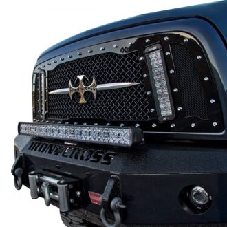 Royalty Core® - 1-Pc RCX LED Explosive Dual Design Custom Painted Mesh Grille