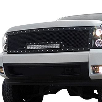 Royalty Core® - 1-Pc RC1X Incredible LED Design Custom Painted Mesh Grille