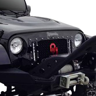 Royalty Core® - 1-Pc RCX LED Explosive Dual Design Custom Painted Mesh Main Grille