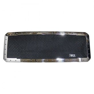 Royalty Core® - 1-Pc RC1 Classic 2-Tone Design Chrome Mesh Grille
