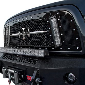 Royalty Core® - 1-Pc RCX LED Explosive Dual Design Mesh Grille