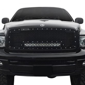 Royalty Core® - 1-Pc RC1X LED Incredible Design Chrome Mesh Grille