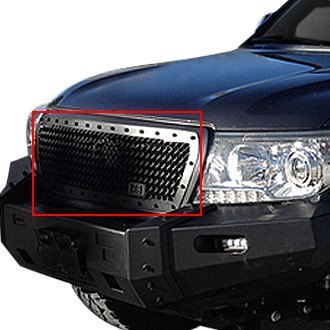 Royalty Core® - 1-Pc RC1 Classic Design Chrome Mesh Main Grille