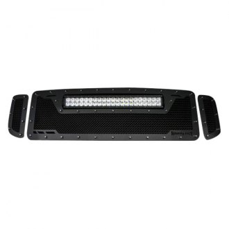 Royalty Core® - 1-Pc RCRX LED Race Line Design Custom Painted Mesh Grille