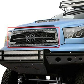 Royalty Core® - 1-Pc RC3DX Innovative Design Chrome Mesh Main Grille