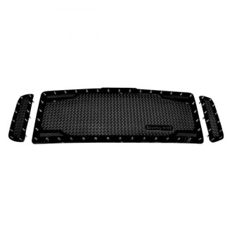 Royalty Core® - 3-Pc RC2 Black Twin Mesh Main Grille