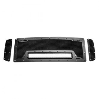Royalty Core® - 3-Pc RCRX LED Race Line Black Mesh Main Grille