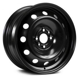 "RT® - 15"" STEEL WHEEL 4 LUG Black"