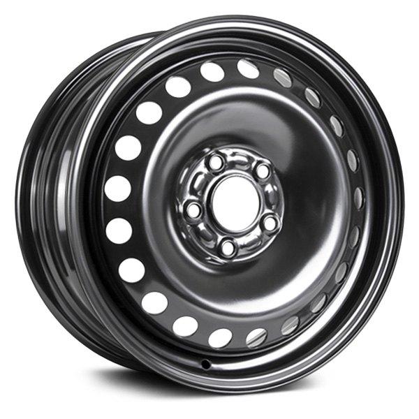 RT 60 STEEL WHEEL 60 LUG Wheels Black Rims X60E Gorgeous 5x108 Bolt Pattern
