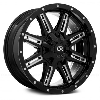 RTX® - RAVINE Black with Milled Accents
