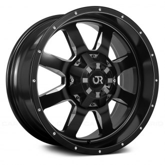 RTX® - RIDGELINE Black with Machined Face