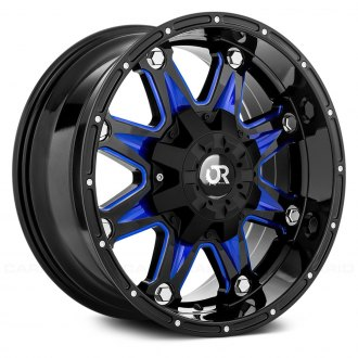 RTX® - SPINE Gloss Black with Blue Accents