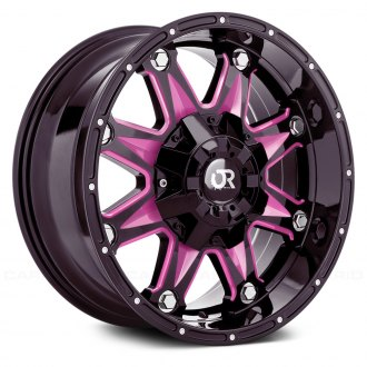 RTX® - SPINE Gloss Black with Pink Accents