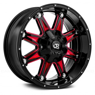 RTX® - SPINE Gloss Black with Red Accents