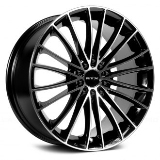 RTX® - TURBINE II Black Machined