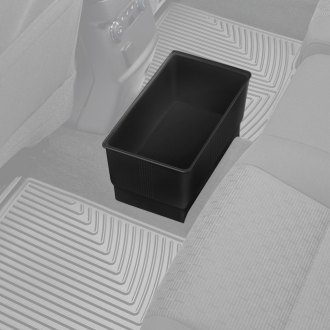 Rubber Queen® - Black Plastic Trash Can
