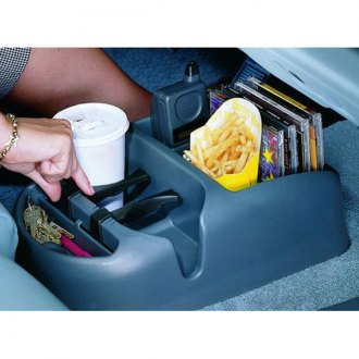 Rubber Queen® - Floor or Seat Mount Console with Adjustable Cup Holder