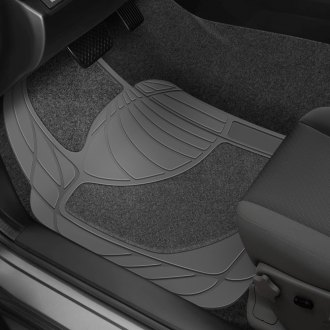 Rubber Queen® - Heavy Duty Carpeted Rubber Floor Mats