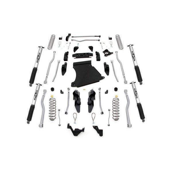 Rubicon Express® - Extreme Duty Long Arm Standard Coil Front and Rear Suspension Lift Kit