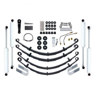 "Rubicon Express® - 4"" x 4"" Leaf Spring Standard Front and Rear Suspension Lift Kit"