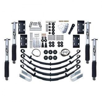 "Rubicon Express® - 4.5"" x 4.5"" Extreme Duty Leaf Spring Front and Rear Suspension Lift Kit"