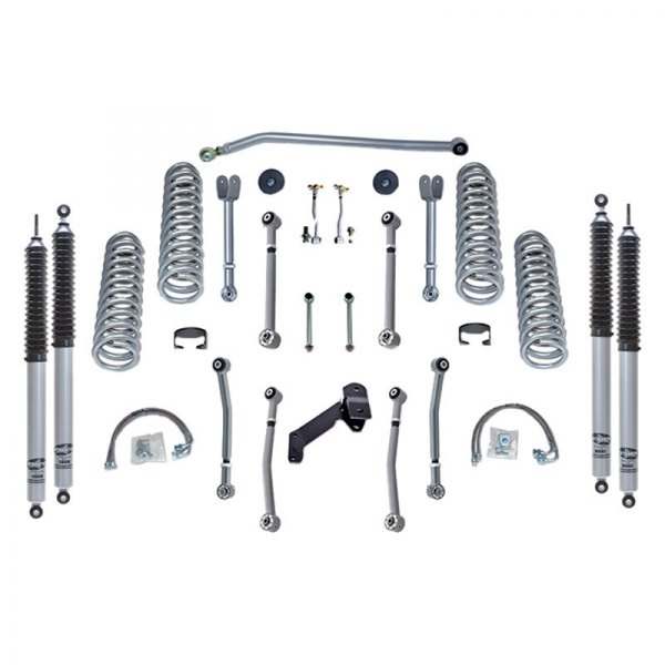 Rubicon Express® - Super-Flex Short Arm Standard Coil Front and Rear Suspension Lift Kit