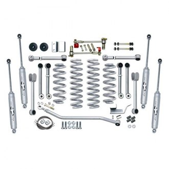 "Rubicon Express® - 4.5"" x 4.5"" Super-Flex Short Arm Standard Coil Front and Rear Suspension Lift Kit"