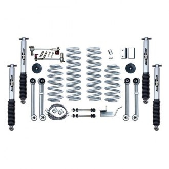 "Rubicon Express® - 3.5"" x 3.5"" Super-Flex Short Arm Standard Coil Front and Rear Suspension Lift Kit"