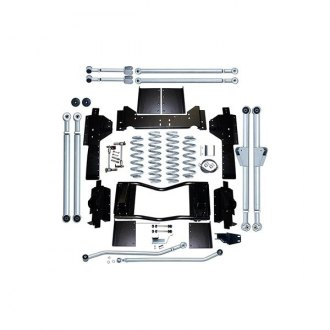 "Rubicon Express® - 4.5"" x 4.5"" Extreme Duty Long Arm Standard Coil Front and Rear Suspension Lift Kit"