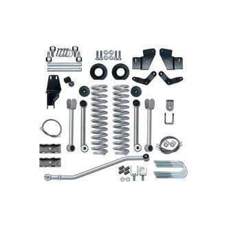 "Rubicon Express® - 5.5"" x 5.5"" Super-Flex Short Arm Standard Coil Front and Rear Suspension Lift Kit"
