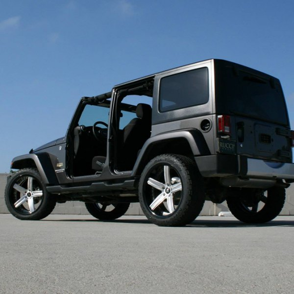 RUCCI® - Enzo Custom Finish on Jeep Wrangler Sahara