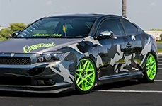 RUFF RACING® - R351 Custom Painted on Scion tC