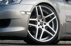 RUFF RACING® - R954 Silver with Machined Face on Infiniti G35