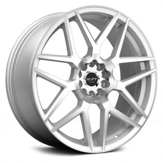 RUFF RACING® - R351 Silver with Machined Face