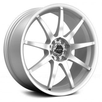 RUFF RACING® - R353 Silver with Machined Face