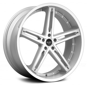 RUFF RACING® - R359 Hyper Silver with Machined Face