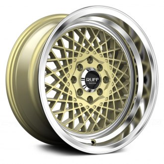 RUFF RACING® - R362 Gold with Machined Lip