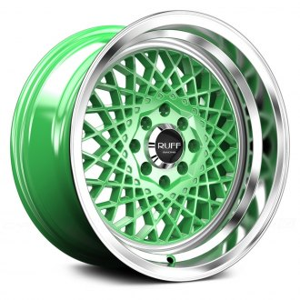RUFF RACING® - R362 Green with Machined Lip